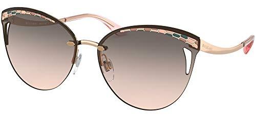 Bulgari Gafas de sol BV6110 20143B Gafas de sol Mujer color Oro rosa tamaño de lente 63 mm