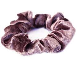Velvet scrunchie pale