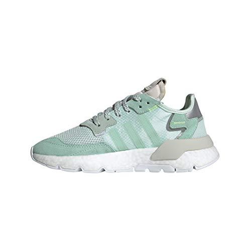Zapatillas ADIDAS Nite Jogger Verde Mujer 40 Verde