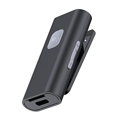 Eeauytr Receptor Bluetooth 5.0 3.5mm Jack adaptador de audio inalámbrico conectar simultáneamente 2 dispositivos Bluetooth Receptor Bluetooth del coche para Tablet Altavoces Viejos
