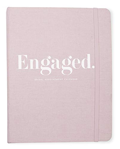 Product Image 2: Kate Spade New York Undated Wedding Planner Organizer Weekly and Monthly, Bridal Appointment Calendar Book, Engaged (Blush)