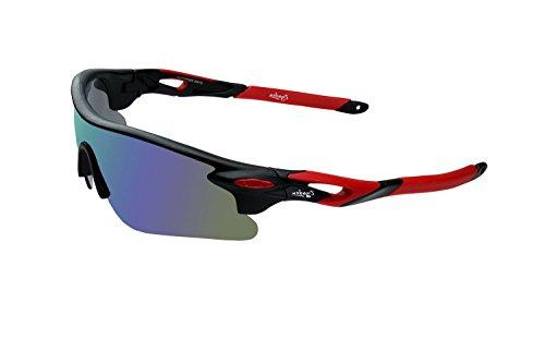 Zyaden UV Protected Plastic Polycarbonate Men's Sports Sunglasses (SPORT-SUNGLASSES-7AB, 65 mm, Blue)