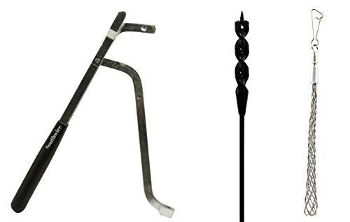 Southwire Tools & Equipment FABK9/16X54 Flex Auger Drill Bit Kit, 9/16x54'