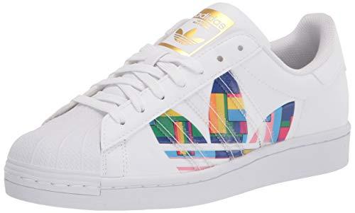 adidas FY9022 Superstar Pride Size 9.5 White