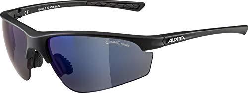 ALPINA Unisex - Erwachsene, TRI-EFFECT 2.0 Sportbrille, black matt, One size
