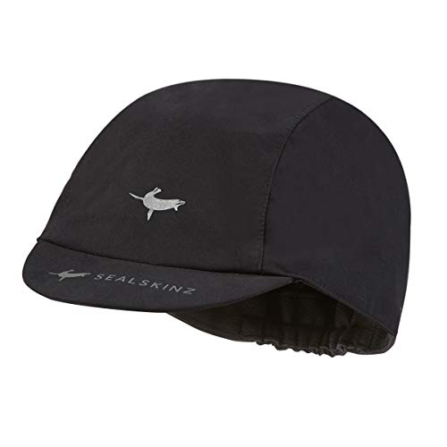 SealSkinz Waterproof All Weather Cycle Cap, Black, X-Large