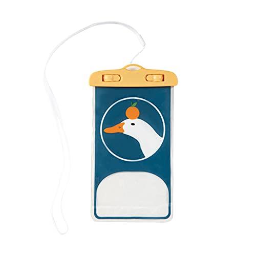 Bolsa impermeable universal transparente para teléfono móvil, para natación, navegación, pesca