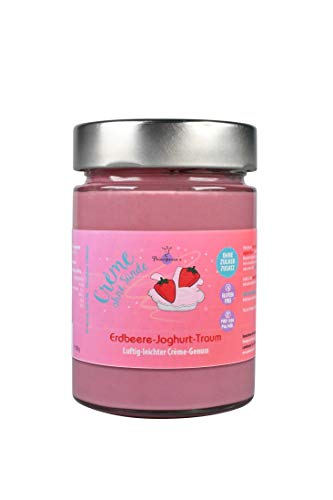 Principessa's Crème ohne Sünden Joghurt Traum Crème, Erdbeere, 300g