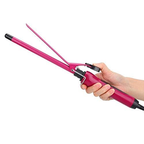 Pkfinrd Multifunctionele styling apparaten Snelle verwarming Curling-stick Professionele temperatuurregeling toermalijn keramiek hittebestendige diepe bucket haar glad haar krulspelden