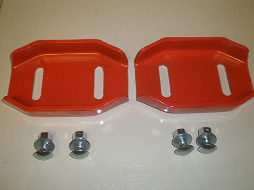Check Out This (Set of 2) Ariens Snowblower Shoe skids Reversable with Hardware Replaces 24599