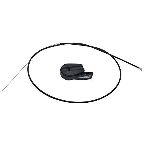 Fltaheroo Nuevo Cable del Acelerador de la Cortadora de CéSped Kit de Manija de Palanca de Interruptor de Control Universal para Cortadoras de CéSped EléCtricas