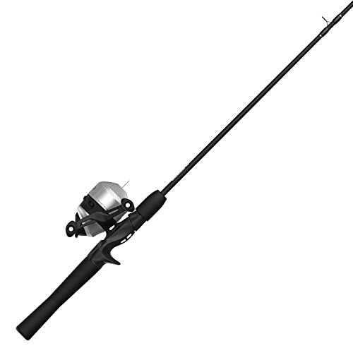 Zebco 33 Spincast Reel and 2-Piece Fishing Rod Combo, Quickset Anti-Reverse Fishing Reel with Bite Alert, Bonus Reel Included, Multicolor