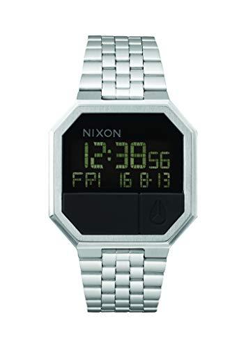 Nixon Unisex Digitaluhr mit Edelstahl Armband