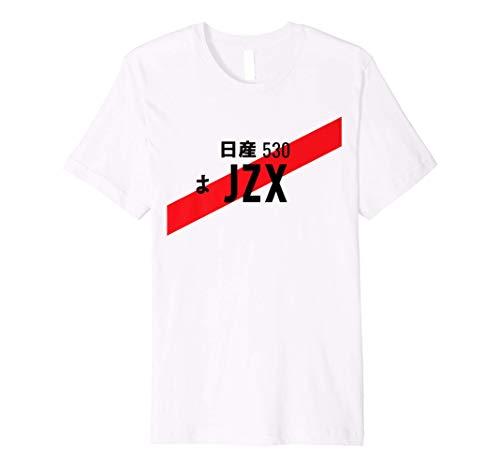 JZX JDM NUMBER PLATE Premium T-Shirt