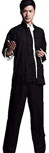 XYSQWZ Ropa De Tai Chi Bruce Lee Chino Wing Chun Kung Fu Uniforme Algodón Seda Artes Marciales Trajes De Tai Chi para Su Ejercicio De Tai Chi Azul-XXXL