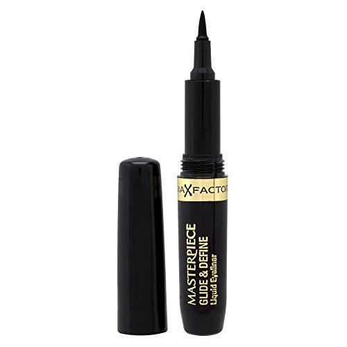 3 x Max Factor Masterpiece Glide & Define Eyeliner - 1 Black