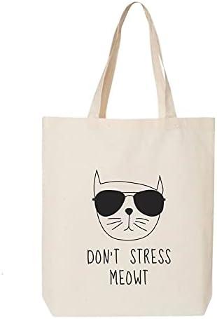 Don't Stress Meowt Tote Bag
