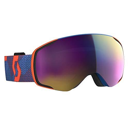 Scott Vapor Goggle Blau-Orange, General, Größe One Size - Farbe Grenadine Orange - Enhancer Teal Chrome