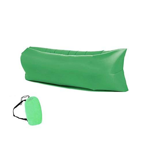 Camping aufblasbares Sofa Lazy Bag ultraleichte Daunenschlafsack Kissen Bett aufblasbares Sofa Lazy Camping Zubehör