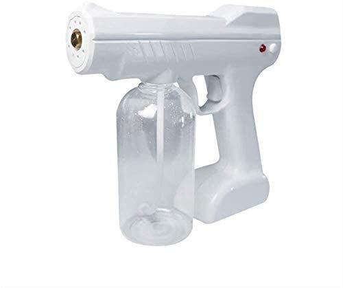 TOPNIU [Use en el Negocio] Pulsador de Vapor de Vapor Interior al Aire Libre Nano Steam Pistola desinfección Luz Azul Nano Pistola de Vapor, pulverizador eléctrico Máquina nublada