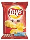 Lay's patatine naturali 40 gr 20x | Peso totale 800 gr