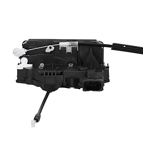 Yctze Actuador de cerradura de puerta 1393796080, actuador de mecanismo de cerradura de puerta de hierro ABS de repuesto para Ducato 2006 +, 1345728080 1346339080