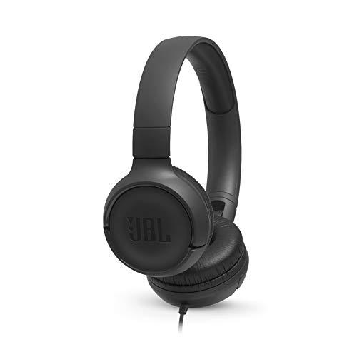 JBL TUNE 500 - Wired On-Ear Headphones - Black