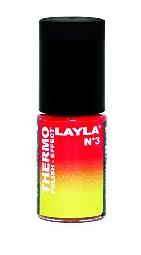 Layla Cosmetics Thermo Polish Effect N.3 thermo Nagellack