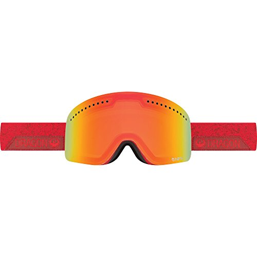 Dragon Alliance NFX Stone Ski Goggles, Stone Red/Yellow Red Ion
