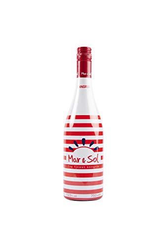 Sangría Mar&Sol Tinta 13,5º - 6 Botellas de 750 ml - Total: 4500 ml
