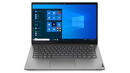 "2021 Lenovo ThinkBook 14 Gen 2, 11th gen Intel i7-1165G7, 512GB SSD, 16GB DDR4 RAM, 14"" FHD (1920 x 1080) IPS, Anti-Glare,300 nits, Thunderbolt 4, Win 10 Pro – Mineral Grey"