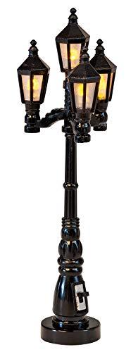 VBS Deko-Straßenlaterne 10 cm mit Beleuchtung Miniatur-Deko