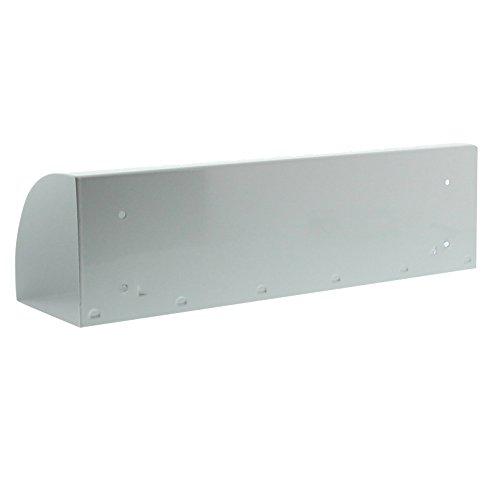 BURG-WÄCHTER, Zeitungsbox, Beidseitig verwendbar, Metall,Vario 820 W, Weiß - 2