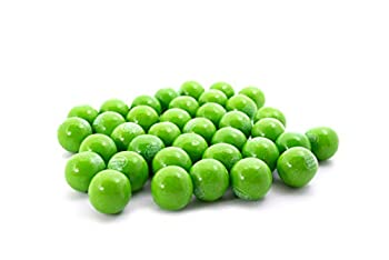 Green Apple Dubble Bubble Bubble Gum - 1 LB Resealable Stand Up Candy Bag  approx 60 pieces  - 1 Inch Gumballs for Vending Machines - Bulk Filler Candy - Artificially Flavored Gum
