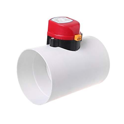 NIANZAI Hongfubang Válvulas de Control de Volumen de Aire de 60 mm de plástico de 220 V válvulas de Control de Aire de 110 mm para tubería de ventilación