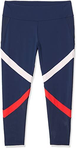 ESPRIT Sports Damen Tight Edry cb Sporthose, Blau (Navy 400), W42(Herstellergröße: XL)