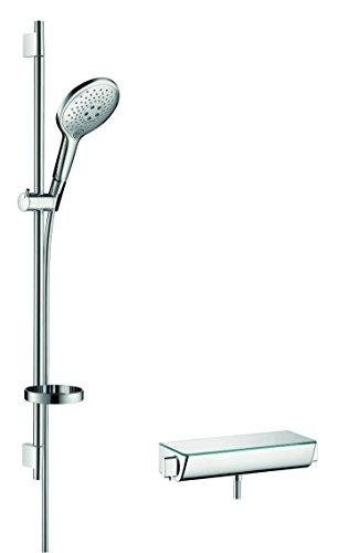 hansgrohe Raindance Select S 150 Thermostatset 0,90m, 3 Strahlarten, Chrom