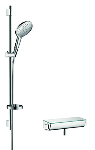 hansgrohe Raindance Select S 150 Thermostatset 0,90m, 3 Strahlarten, Chrom