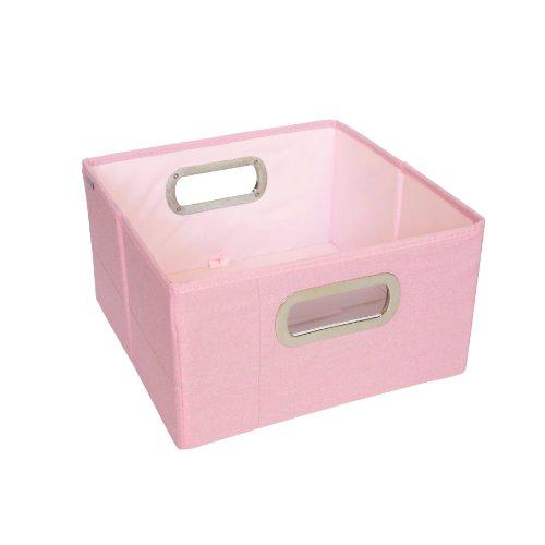 JJ Cole Heather Storage Box, Pink, 6.5