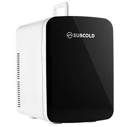 Subcold Ultra 15 Mini Fridge Cooler & Warmer | 3rd Gen | 15L capacity | Compact, Portable and Quiet | AC+DC Power Compatibility (Black)