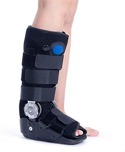 SEESEE.U Bota estabilizadora de Tobillo/pie para fracturas de pie con cámara de Aire Tall Premium - Indicada para el Tratamiento de esguinces Lesiones Fx estables del Tobillo y el pie, M