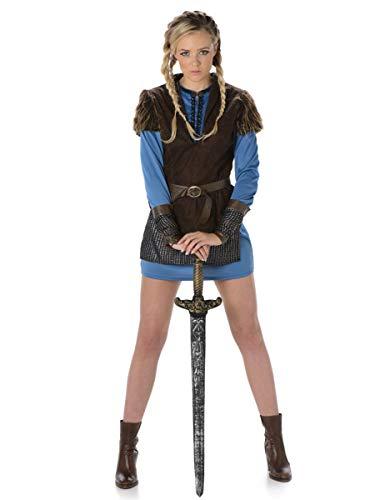 Karnival Costumes - Wikinger Kostüm für Damen Taille M