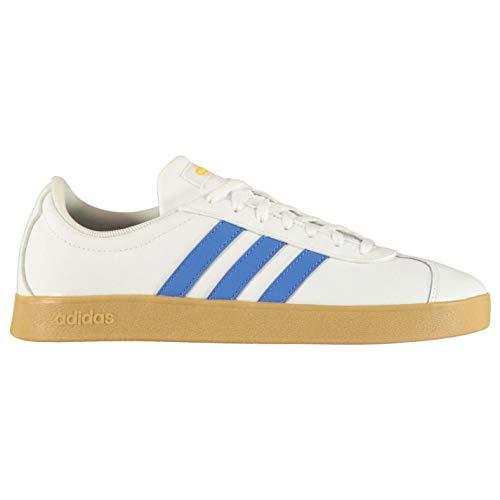 adidas Uomo VL Court 2.0 Sneaker Bianco, 39 1/3