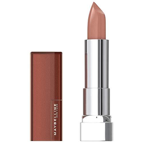 Maybelline New York Color Sensational Mattes Nudes Lippenstift Nr. 981 Rebel Nude, 1er Pack (1 x 4 g)