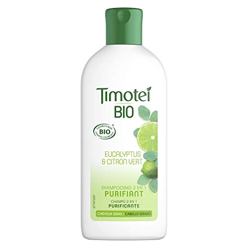 Timotei Bio Champú y Acondicionador 2 En 1 Purificante para Cabello Graso - 250 ml
