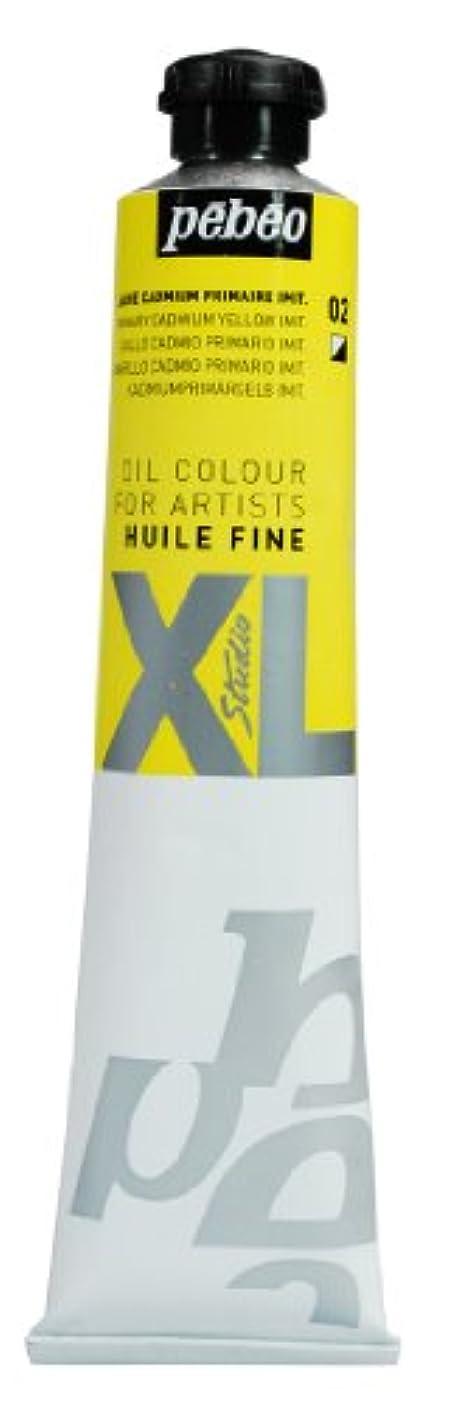 PEBEO Studio XL Fine Oil 80-Milliliter, Primary Cadmium Yellow Hue