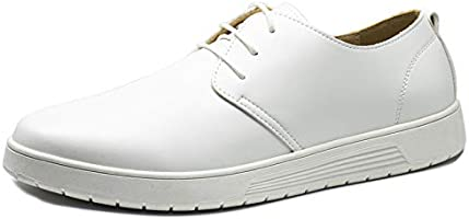 XIPAI Mens Stylish Casual Shoes Comfortable Non Slip Oxford Sneakers