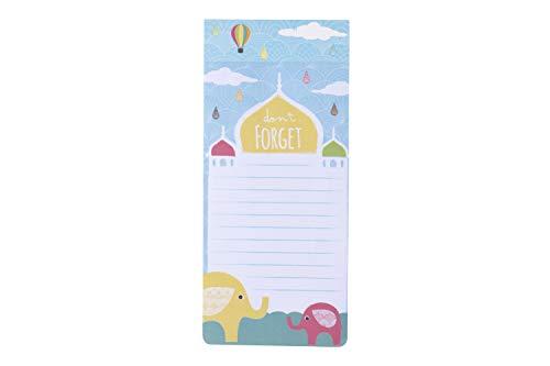 CGB Giftware 'Niet vergeten' Scheur Magnetisch Kladblok af | Gevoerd papier | Stationair | Winkelen en doen Lijst | Herinneringen | Stick on Koelkast Freezer | CGB264