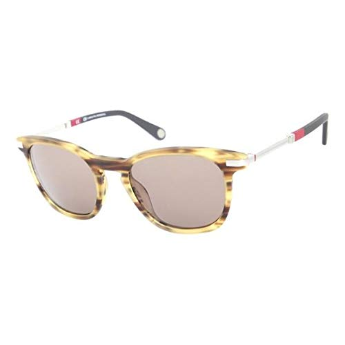 Carolina Herrera SHE683T94M Gafas de sol, Amarillo, 51 para Hombre