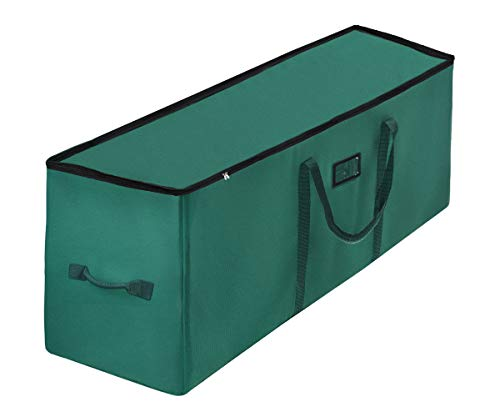 Christmas Tree Storage Bag Extra Large Xmas Tree Storage Containers Fits up to 9 ft Artificial Xmas Tree with High 600D PVC Material Durable Reinforced Handles Protects from Dust Moisture Insect